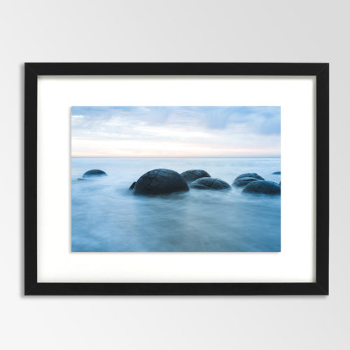 Moeraki Boulders-Blue