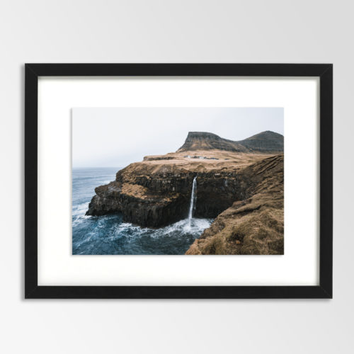 Waterfall Faroe 2